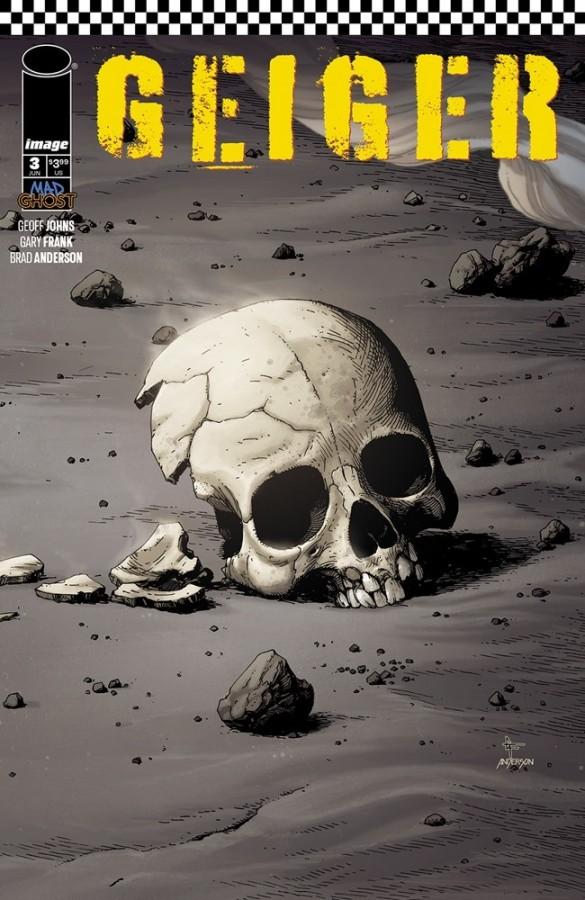 Geiger #1, copertina di Gary Frank
