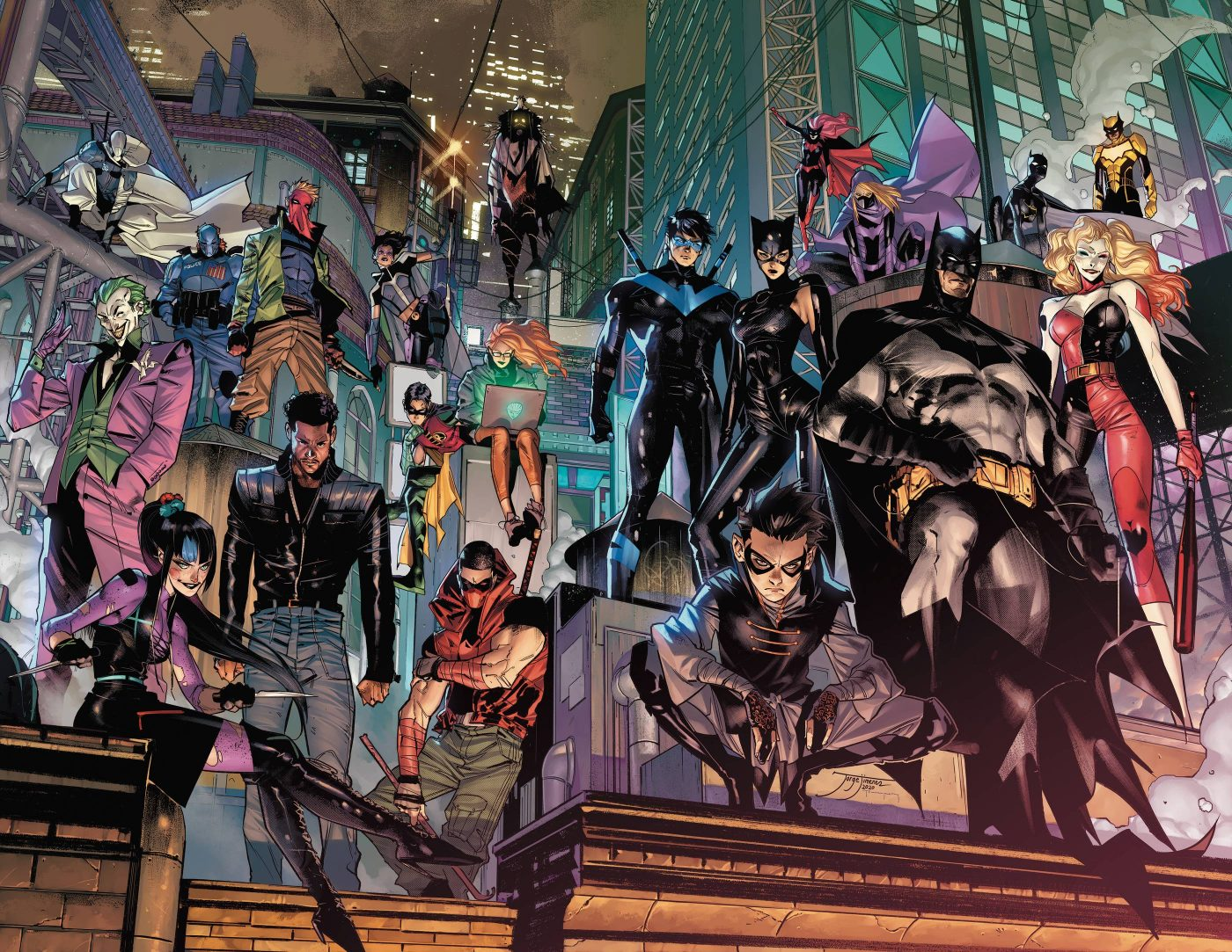 Batman, illustrazione di Jorge Jimenez