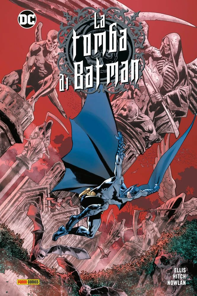 La tomba di Batman vol. 1, copertina di Bryan Hitch