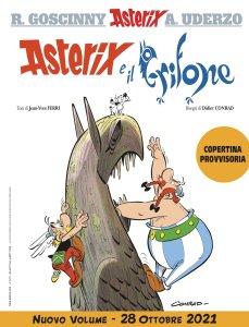 Asterix e il grifone, copertina di Didier Conrad