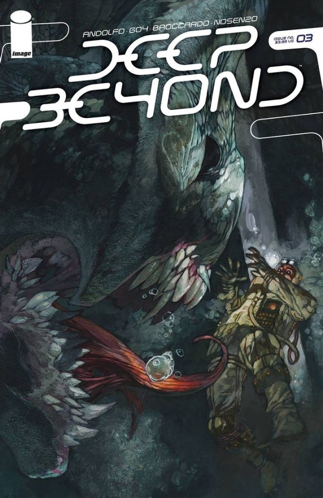 Deep Beyond #3, variant cover di Simone Bianchi