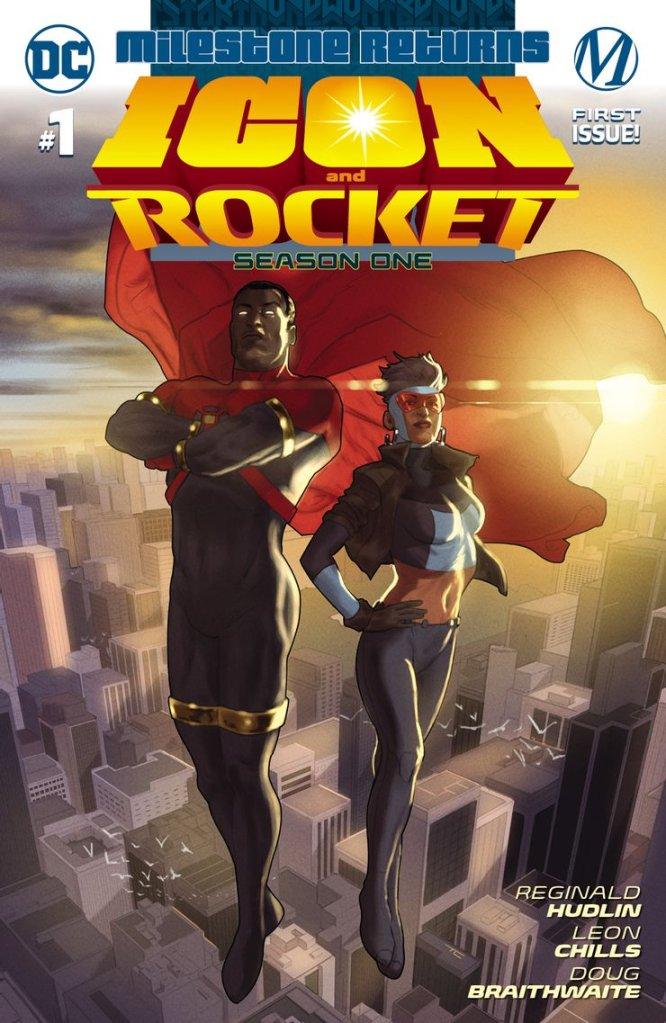 Icon and Rocket: Season One, copertina