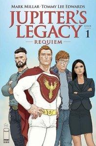 Jupiter's Legacy: Requiem #1, copertina di Frank Quitely