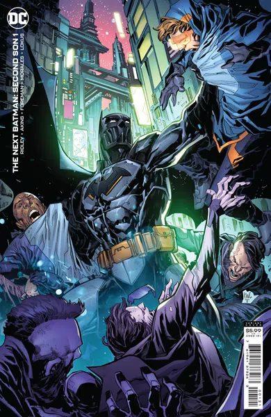 Next Batman: Second Son #1, variant cover di Ken Lashley