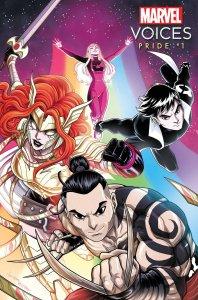 Marvel's Voices: Pride #1, copertina di Luciano Vecchio