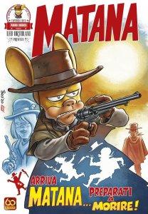 Matana 1, copertina di Leo Ortolani