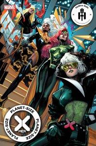 Planet-Size X-Men #1, variant cover di Pepe Larraz