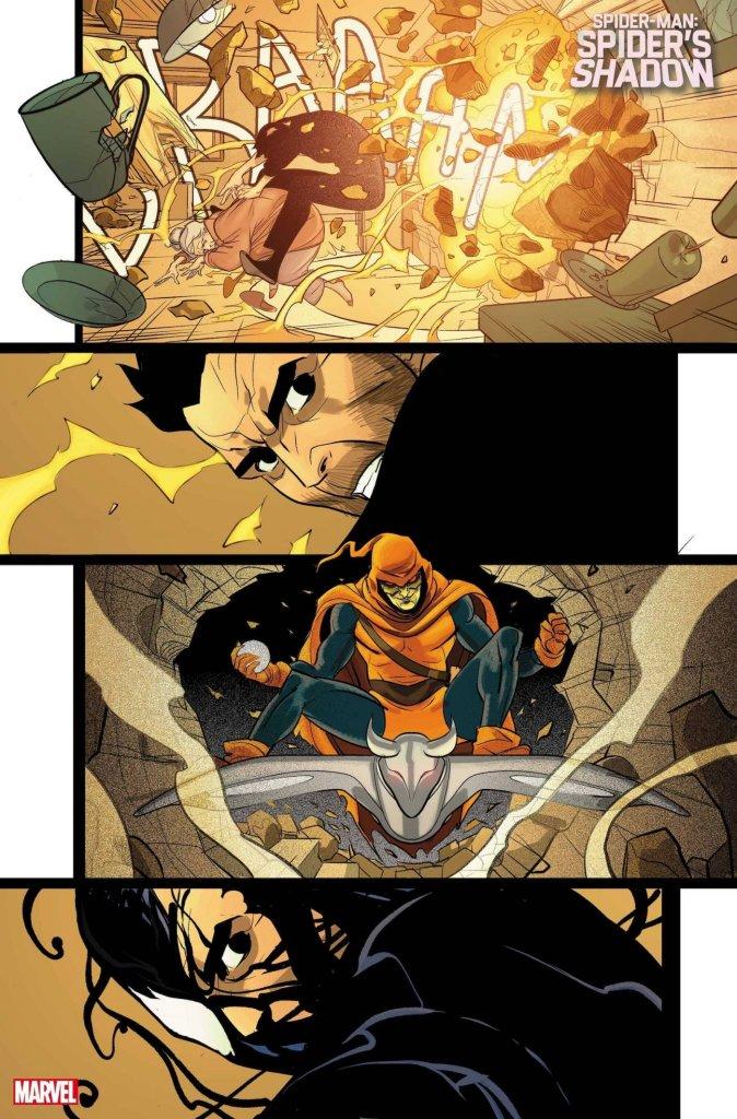 Spider-Man: Spider's Shadow #1, anteprima 05