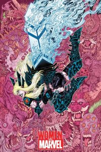 Women of Marvel #1, variant cover di Maria Wolf