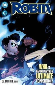 Robin #3, copertina di Gleb Melnikov