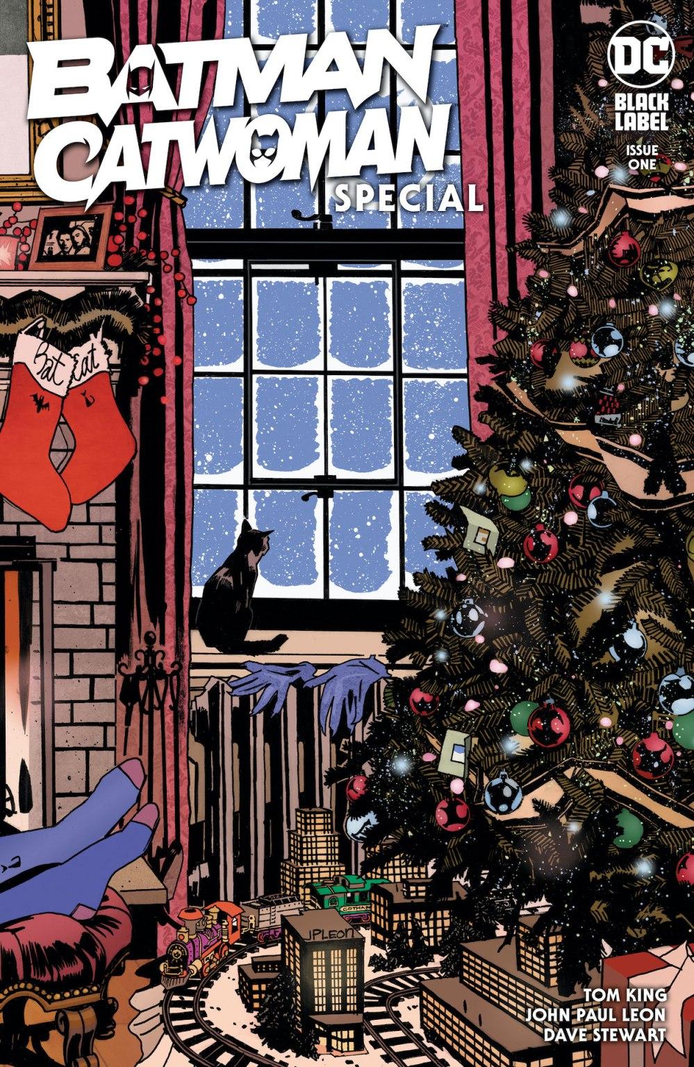 Batman/Catwoman Special #1, copertina di John Paul Leon