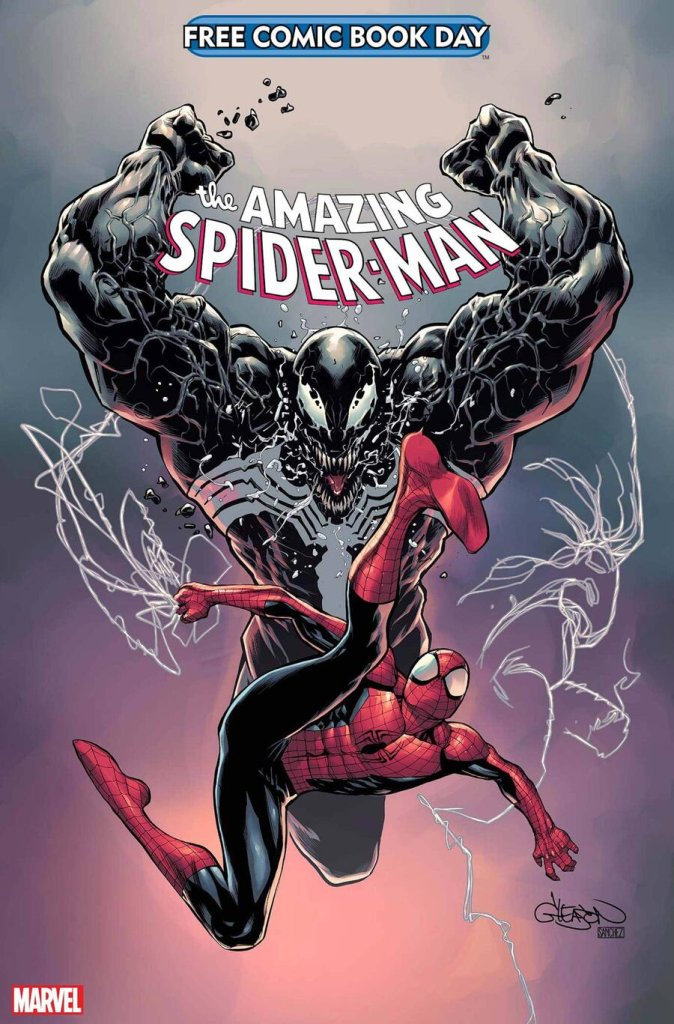 Free Comic Book Day 2021: Spider-Man/Venom, copertina di Patrick Gleason