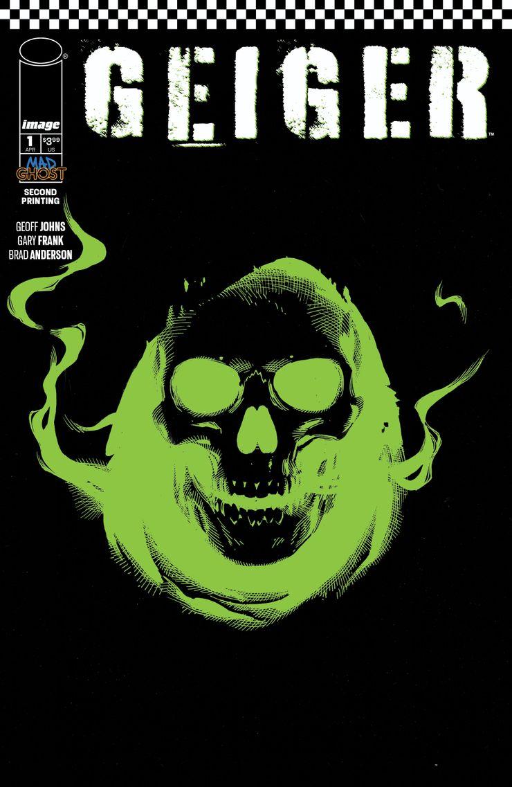 Geiger #1, variant cover di Gary Frank