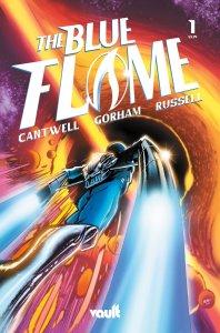Blue Flame #1, copertina di Adam Gorham
