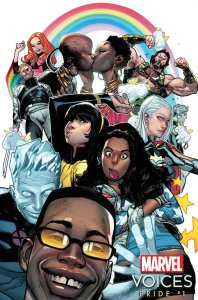 Marvel's Voices: Pride #1, variant cover di Olivier Coipel