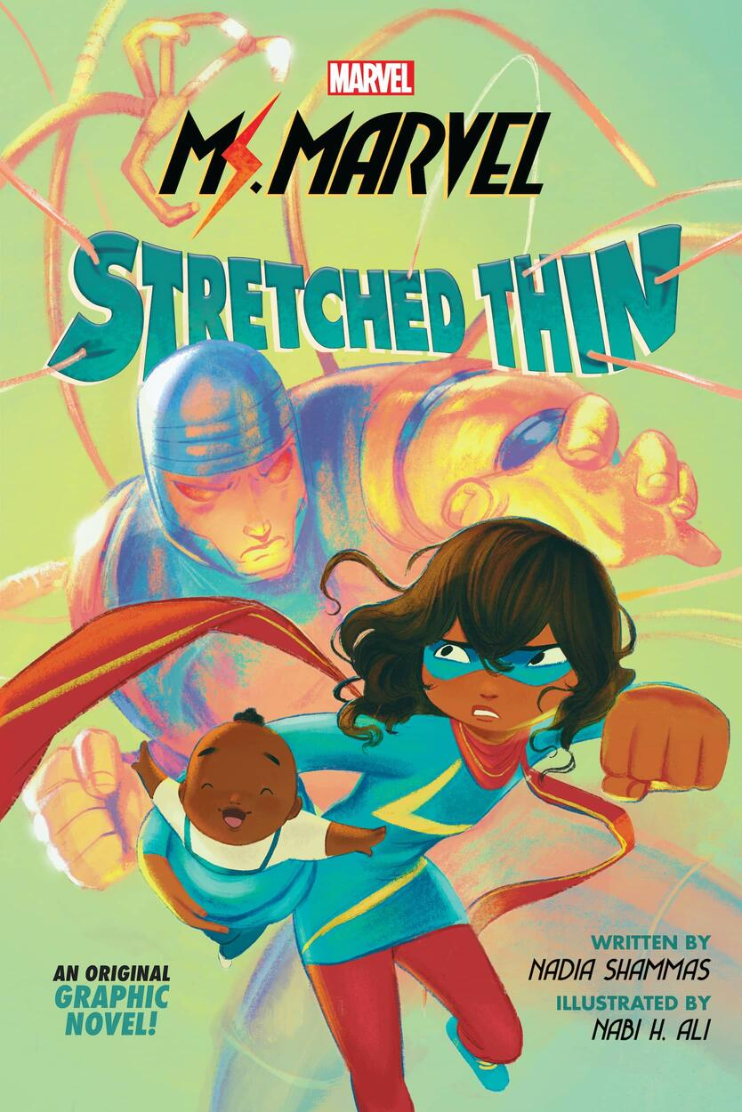 Ms. Marvel: Stretched Thin, copertina di Nabi H. Ali