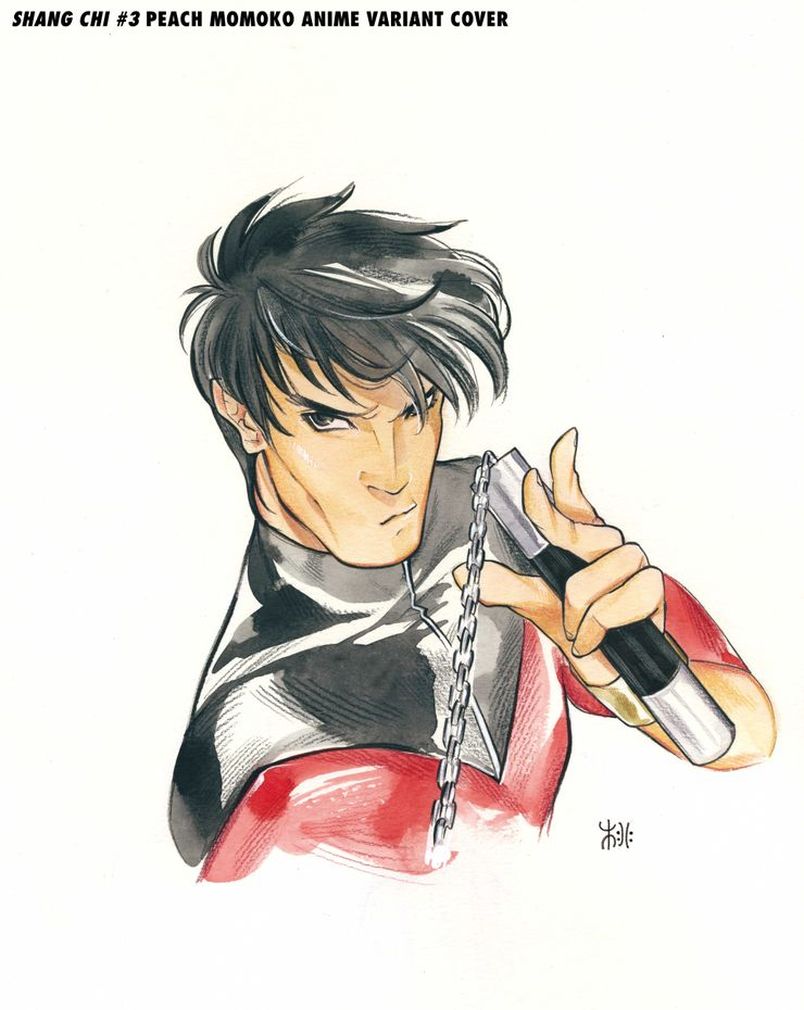 Shang Chi #3, variant cover di Peach Momoko