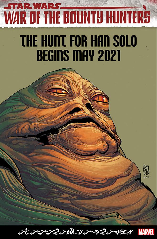 Star Wars: War of the Bounty Hunters - Jabba the Hutt #1, variant cover di Giuseppe Camuncoli