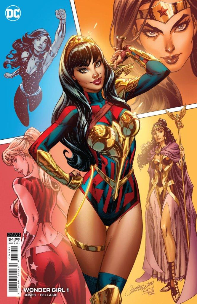Wonder Girl #1, variant cover di J. Scott Campbell