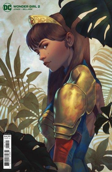 Wonder Girl #2, variant cover di Will Murai