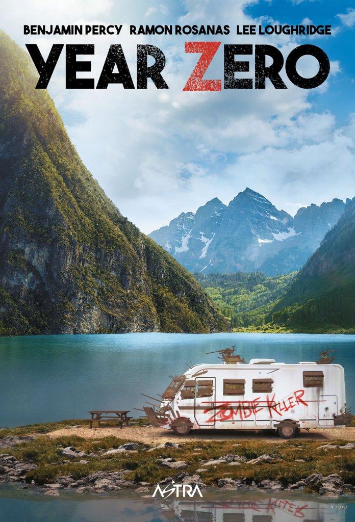 Year Zero, copertina di Kaare Andrews