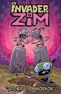 Invader Zim: The Dookie Loop Horror, copertina di Jhonen Vasquez