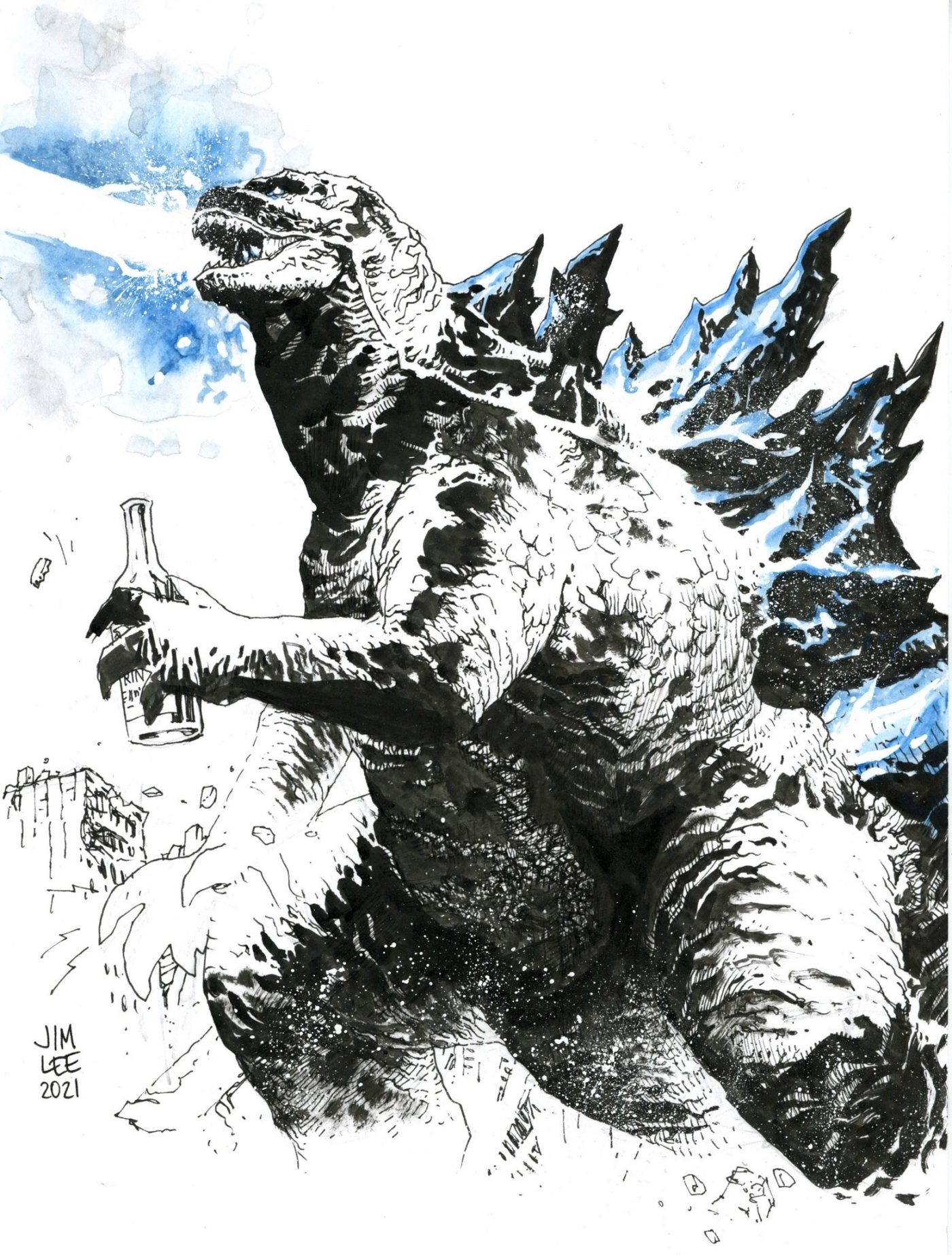 Godzilla Jim Lee