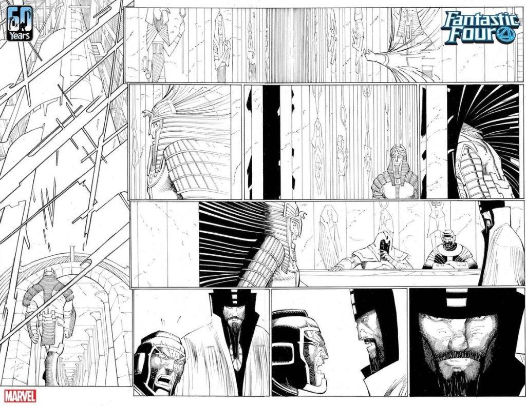Fantastic Four #35, anteprima 01