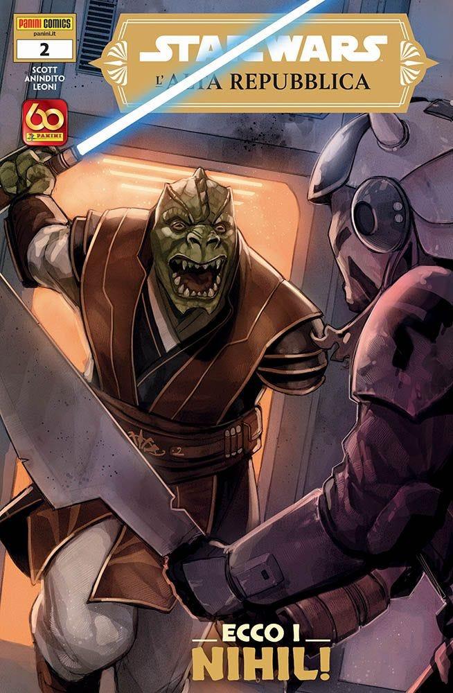 Star Wars: L'Alta Repubblica 2, copertina