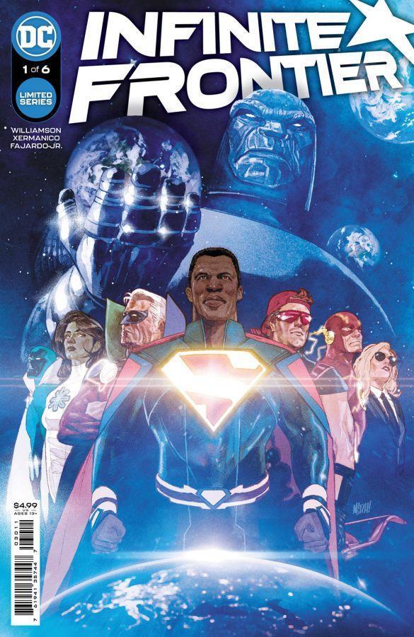 Infinite Frontier #1, copertina di Mitch Gerads