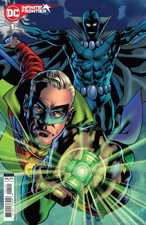 Infinite Frontier #1, variant cover di Bryan Hitch