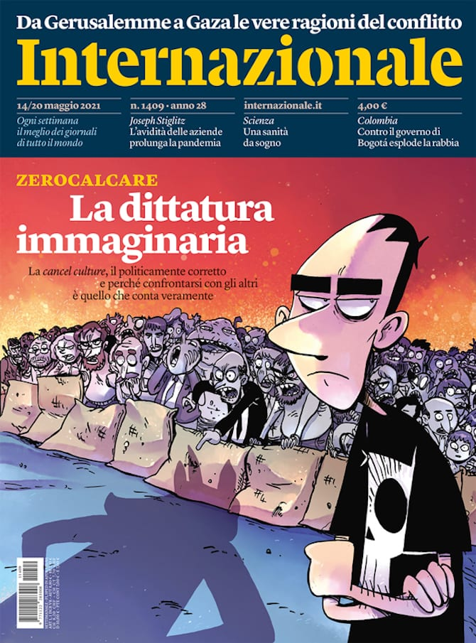 Internazionale 1409, copertina di Zerocalcare