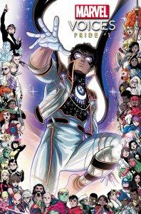 Marvel's Voices: Pride, variant cover di Luciano Vecchio