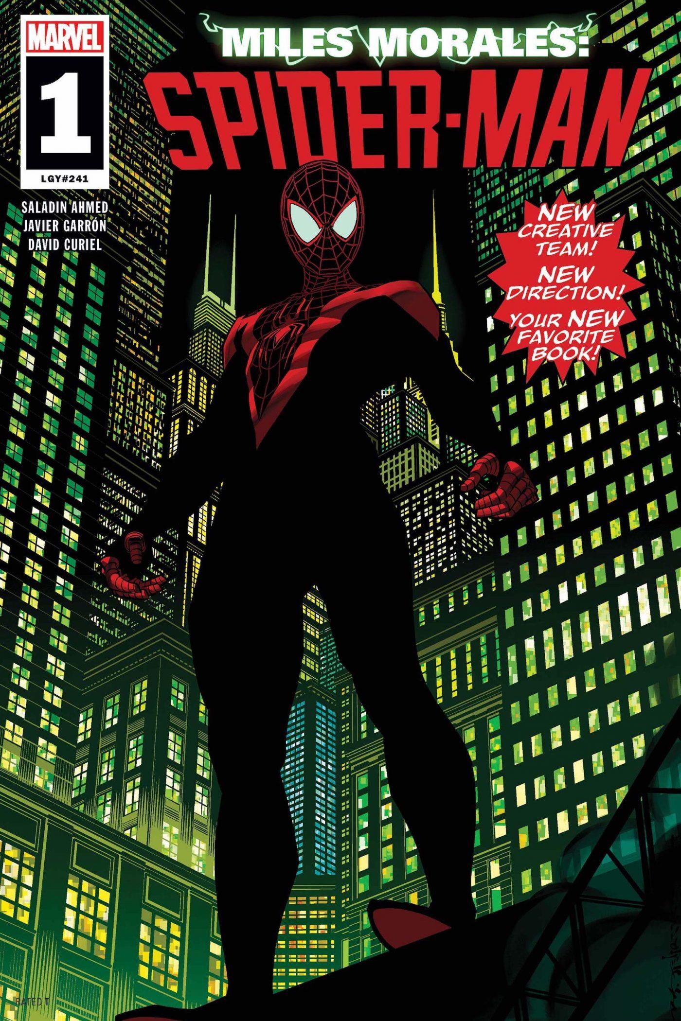 Miles Morales: Spider-Man #1 di Brian Stelfreeze