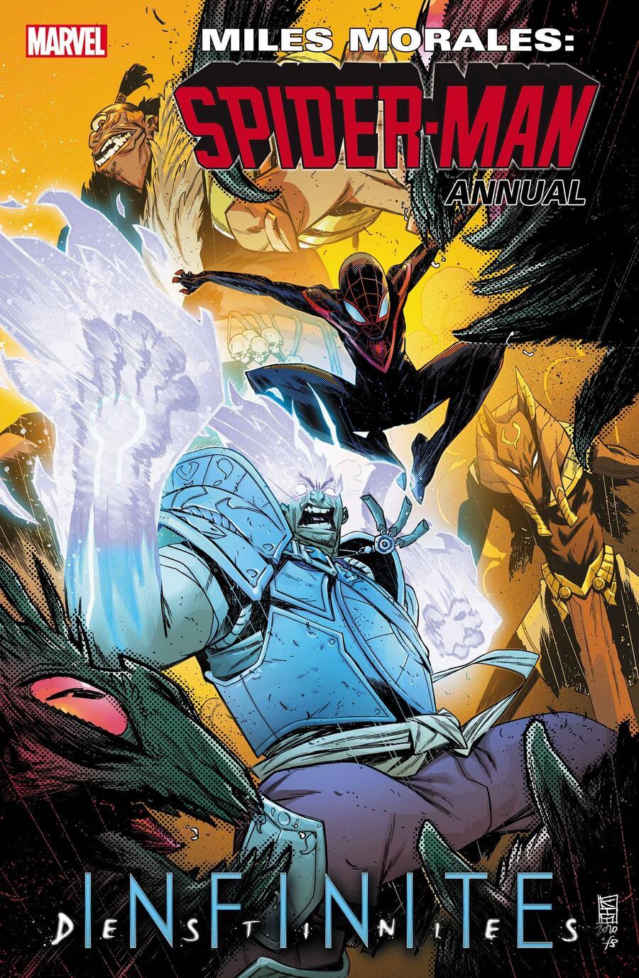 Miles Morales: Spider-Man Annual #1, copertina di Kim Jacinto