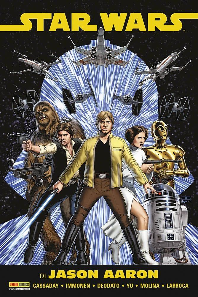 Star Wars Omnibus vol. 1, copertina di John Cassaday