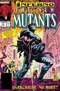 New Mutants #73, copertina