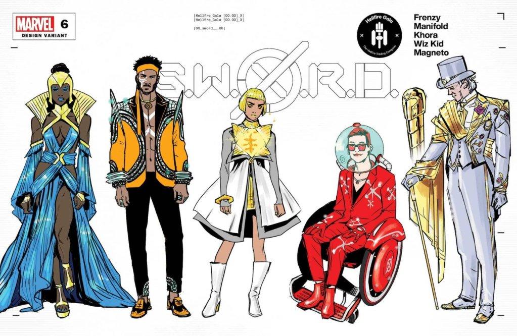 S.W.O.R.D. #6, variant cover di Valerio Schiti