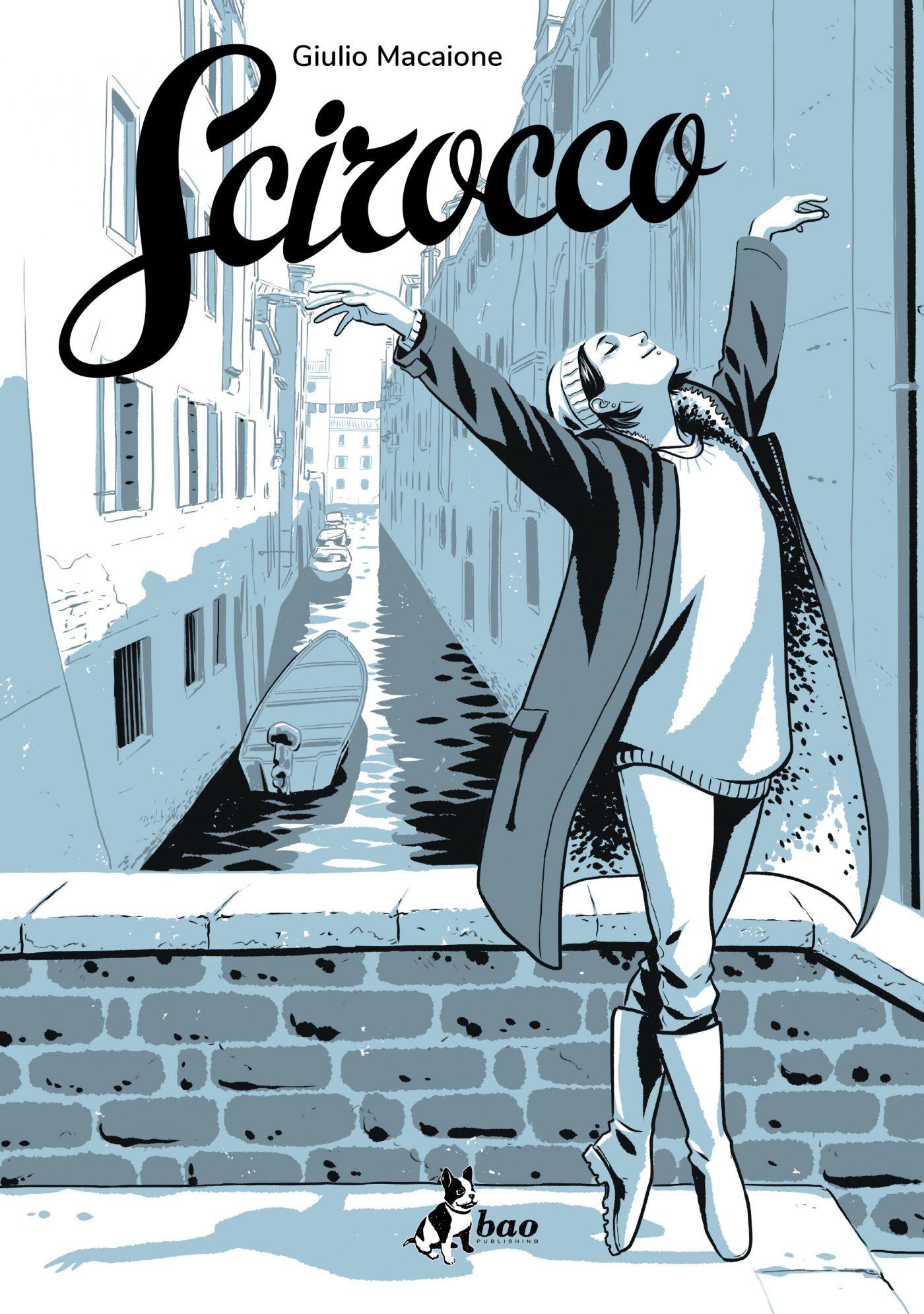 Scirocco, copertina di Giulio Macaione