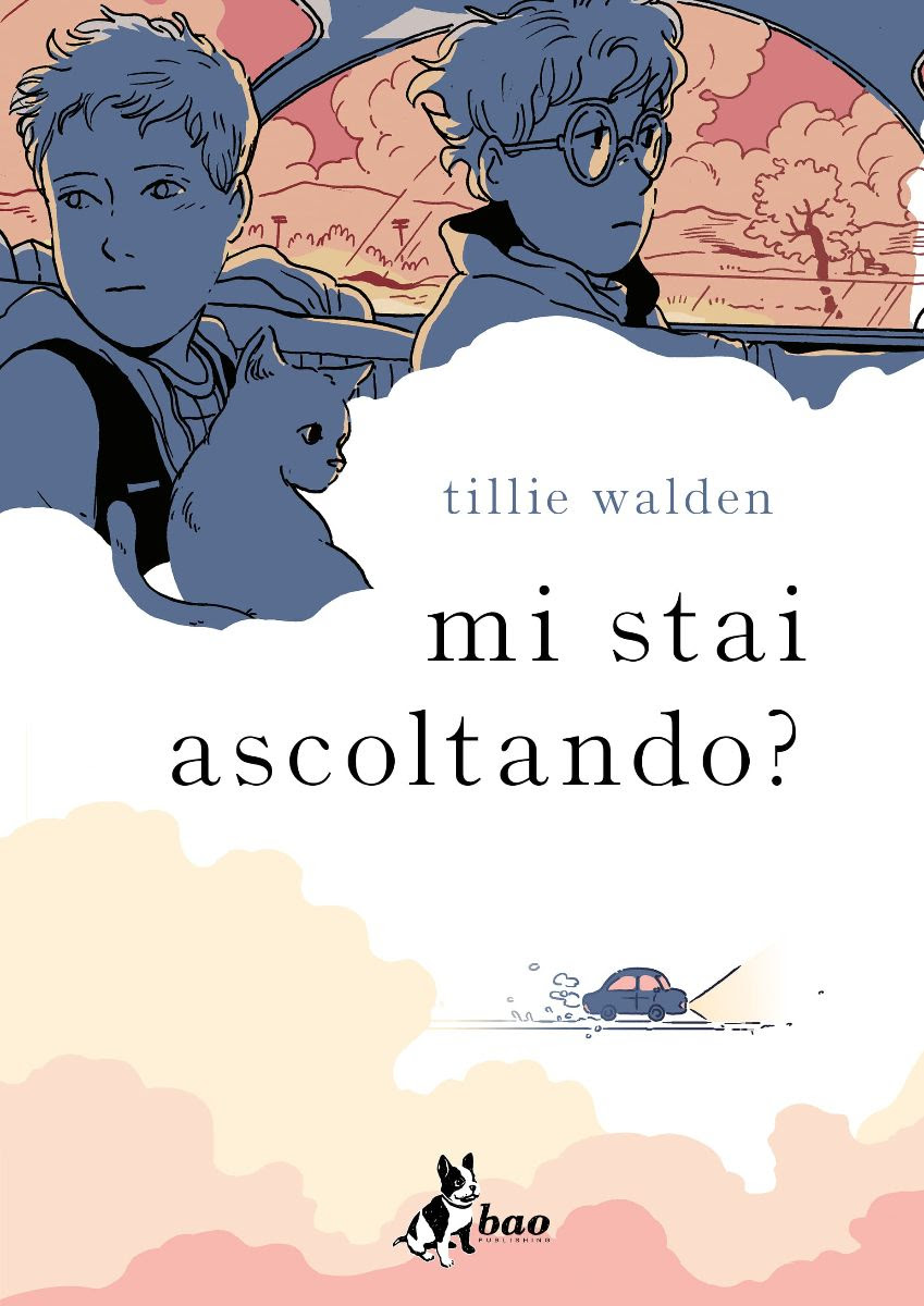 Mi stai ascoltando?, copertina di Tillie Walden