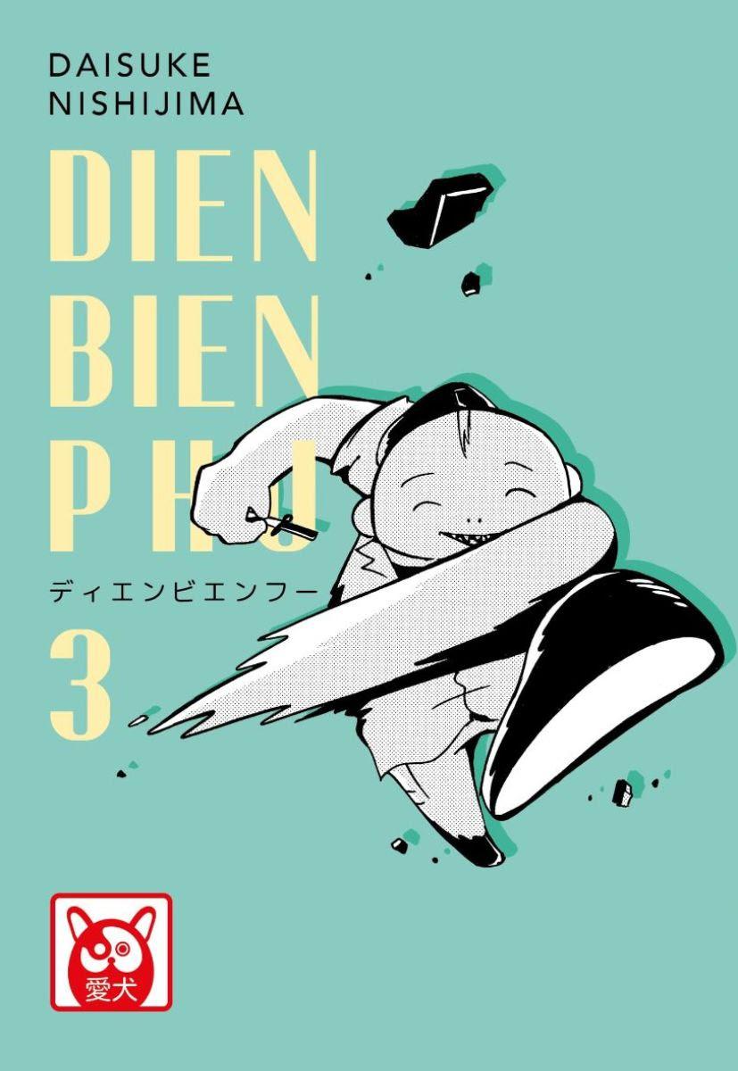Dien Bien Phu 3, copertina di Daisuke Nishijima