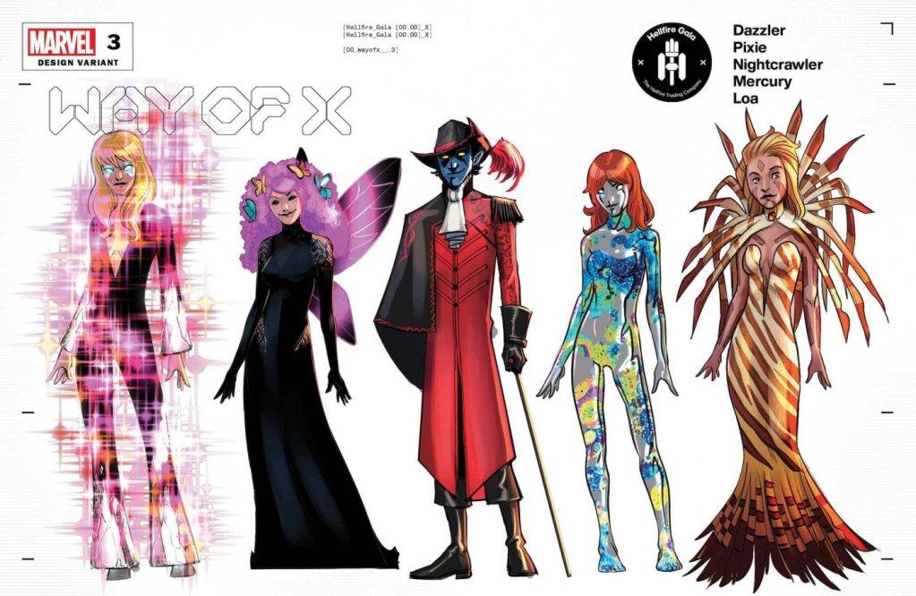 Way of X #3, variant cover di Bob Quinn