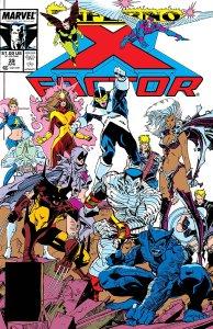 X-Factor #39, copertina