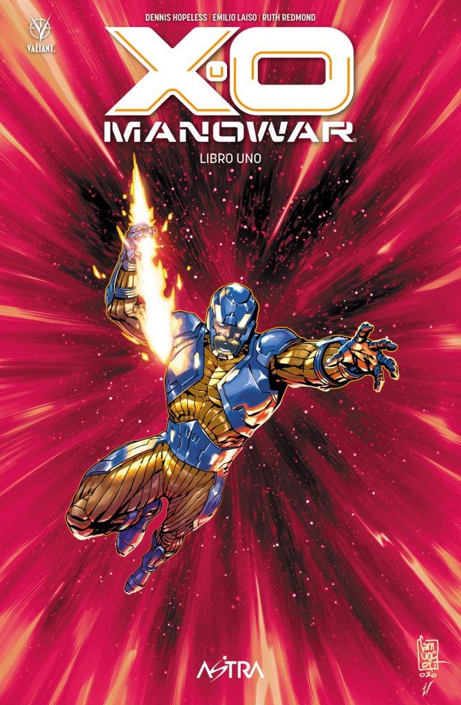 X-O Manowar vol. 1, copertina di Giuseppe Camuncoli