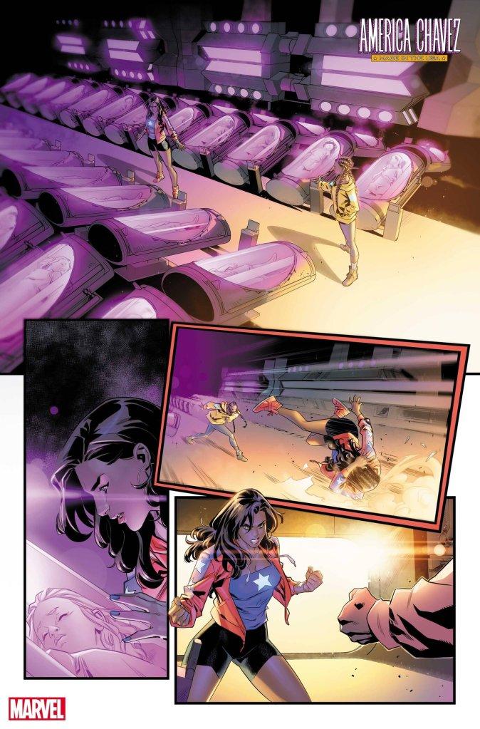 America Chavez: Made in U.S.A. #4, anteprima 01