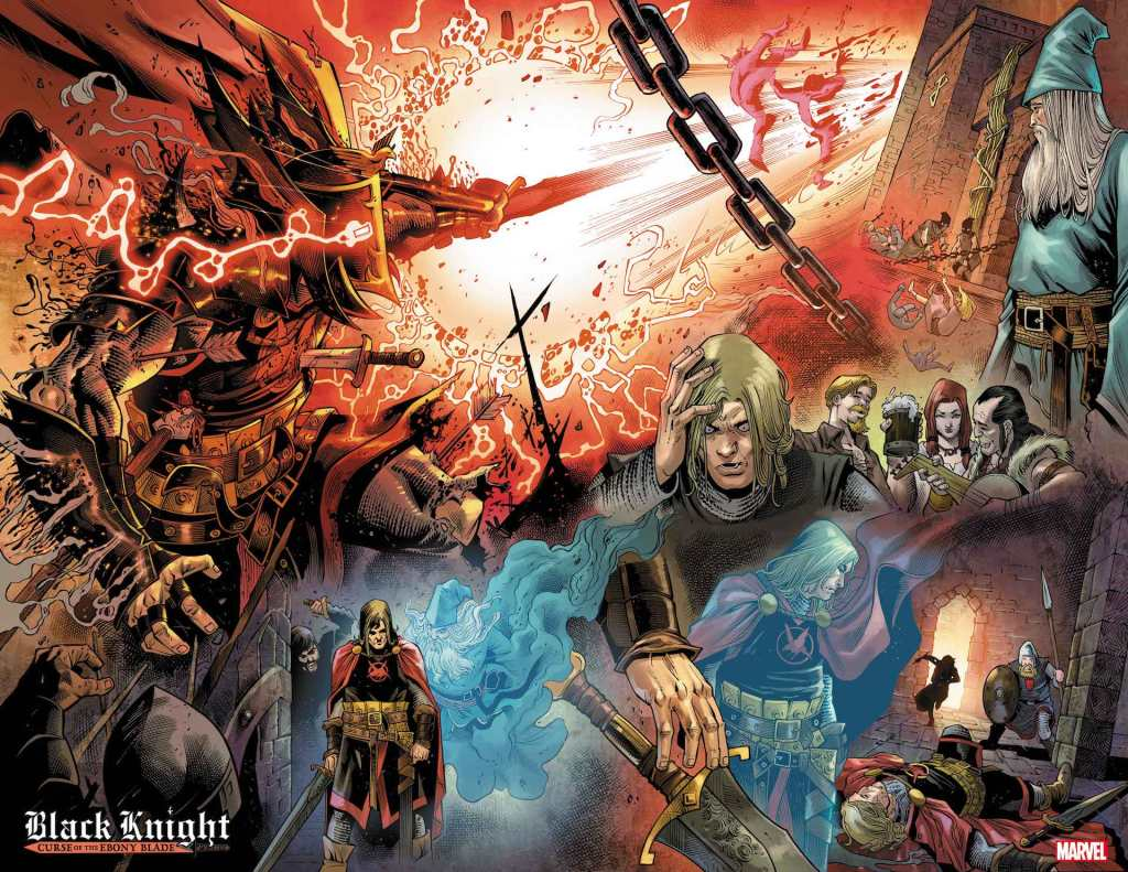 Black Knight: Curse of the Ebony Blade #4, anteprima 03