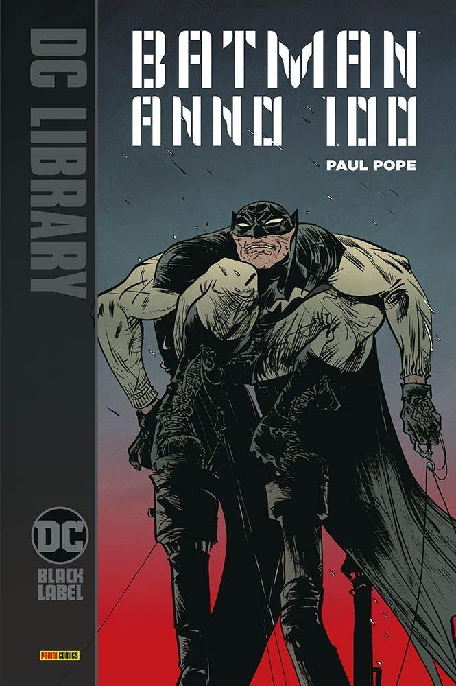 Batman: Anno 100, copertina di Paul Pope