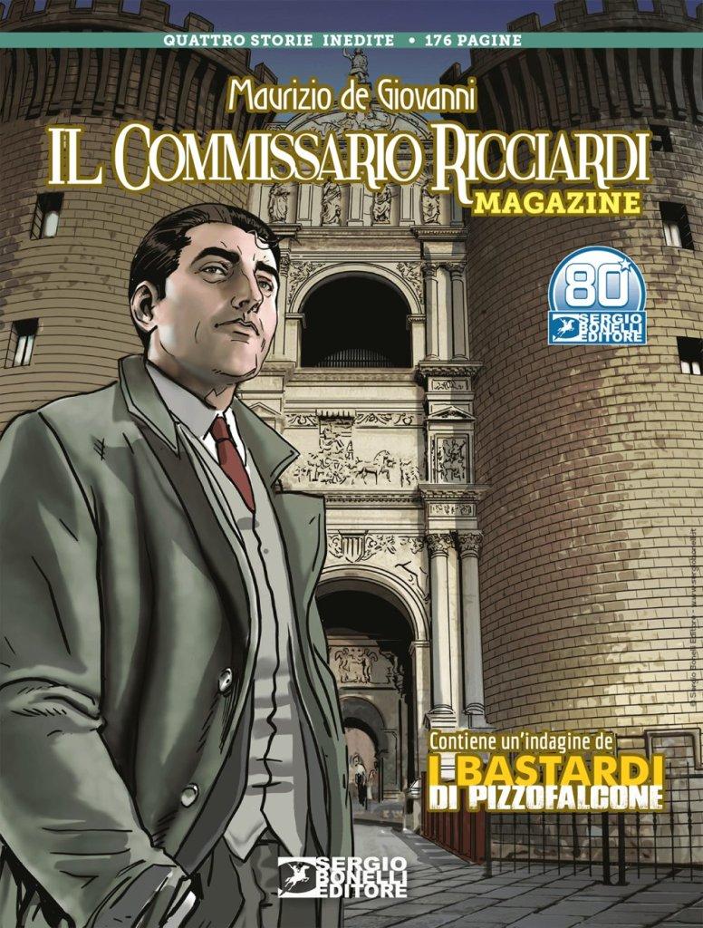 Il Commissario Ricciardi Magazine 2021, copertina di Daniele Bigliardo