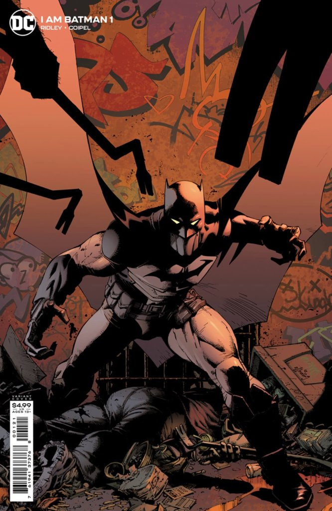 I Am Batman #1, variant cover di Greg Capullo