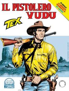 Tex 726: Il pistolero vudu, copertina di Claudio Villa
